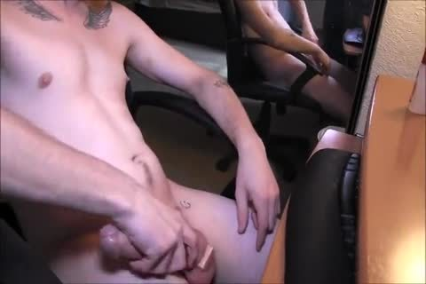 My straight ally Strokes His 8.5 Inch cock