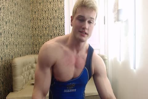 delicious young Russian Muscle Hunk