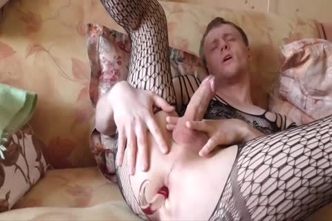 Lana Tuls - Crossdress And Assplay With dildos And ejaculation