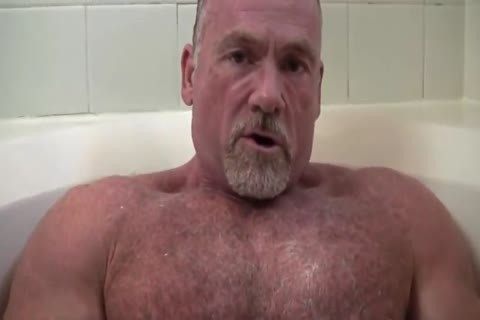 lusty Muscle Daddy Mikey Shower jerk off   spooge
