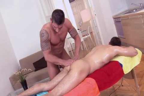 large penis Daddy anal sex And Facial