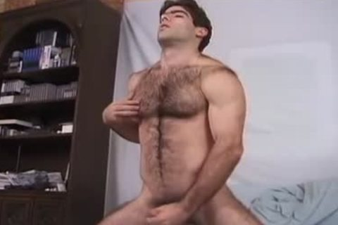 hairy animal And His sex-dildo