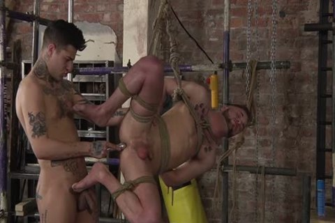 young homo Koby Lewis fastened And banged Hard By Mickey Taylor