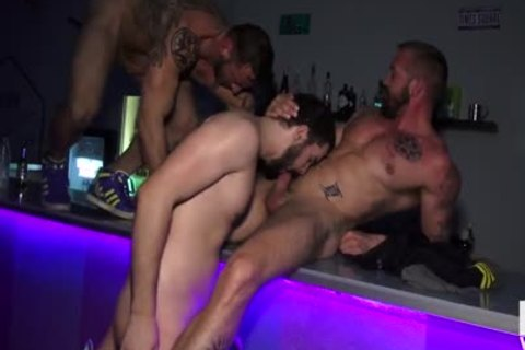 Hugo Goes To The Bar To get fucked