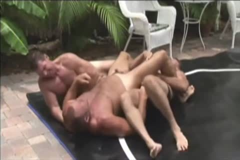 Brock Hart nailed By Two chaps