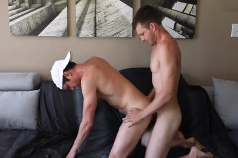 Husbands bunch sex It Out On The sofa