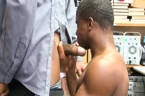 This Thief receives A Hard drilling As His punishment