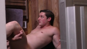Sorry dad - Damien Stone with Clark Campbell massive dick Nail