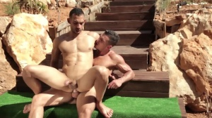 fellows In Ibiza - Paddy O'Brian & Juan Lopez ass Hump
