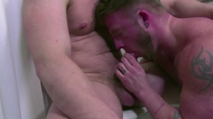 Captive - Aaron Bruiser with Jake Henrikson butthole fuck