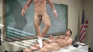 Hazing Bust - Rocco Reed & Joey Cooper ass pound