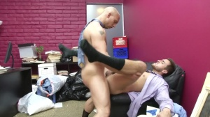 Law And Hoarder - John Magnum & Bryce Star anal Nail