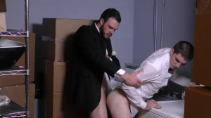 Runaway Groom - Cliff Jensen with Damien Kyle butthole pound