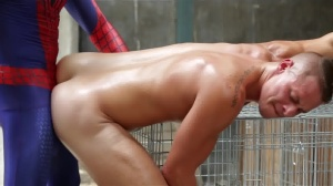 Spiderman : A homo XXX Parody - Aston Springs and Will Braun anal Nail