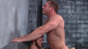 First Time Bottom - Christian Wilde with Joey Carter anal Hook up