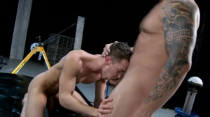 The Gaytrix - Colby Jansen with Darius Ferdynand butthole bone