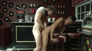 Sex Traveler - Colby Keller and Jd Phoenix anal Nail