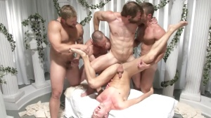 Sex Traveler - Landon Conrad, Colby Keller butthole bang