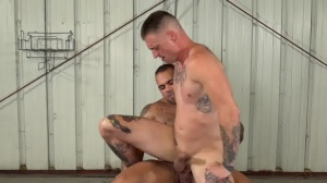 rough And bare three - butt pound