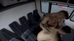 guys In Public 28 - Bus pound - blowjob Hook up