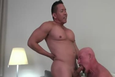 Juliano And German dad poke bare