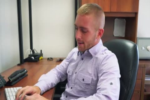 GRAB wazoo - Scott Riley Is The ideal Employee, Always Working Hard To Please The Boss