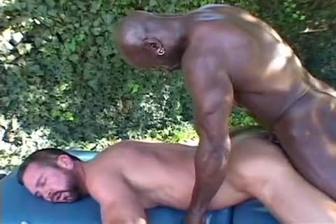 Daddy Getting drilled By Muscle Massage Therapist