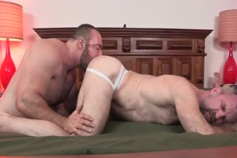 HotOlderMale - rock hard BEAR BRAD KALVO pokes kinky DADDY PETER rough