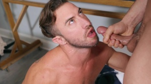 Projecting penis - Johnny Rapid & Grant Ryan anal Hook up