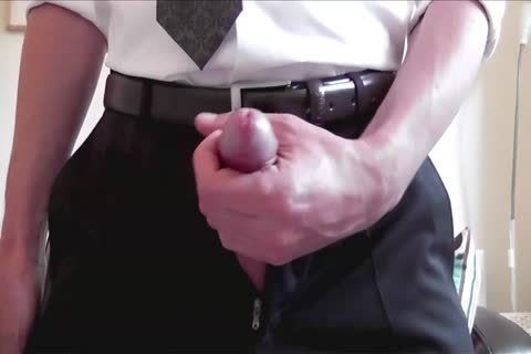 A naughty amateur handjob By Himself At Home