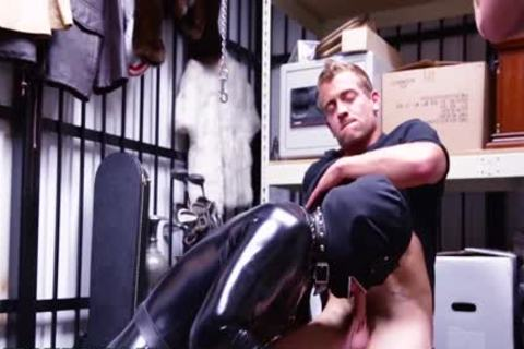 homosexual PAWN - We Paid Our new Employee To bang A Gimp In The Backroom