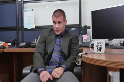 three-some With monstrous penises In The Office