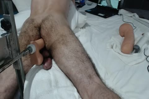 13+ CREAMY anal ORGASMS+ large SHOOTING LOAD WITH dril MACHINE
