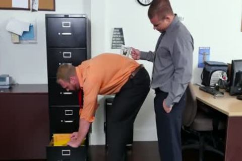 GRAB arse - new Employee acquires Broken In By The Boss, Adam Bryant