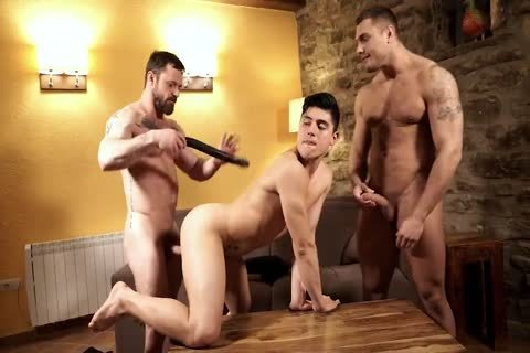 Daddy Barebacking twink And Muscled lad