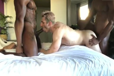 Max Konnor & Liam pounding Sir Jet in nature's garb