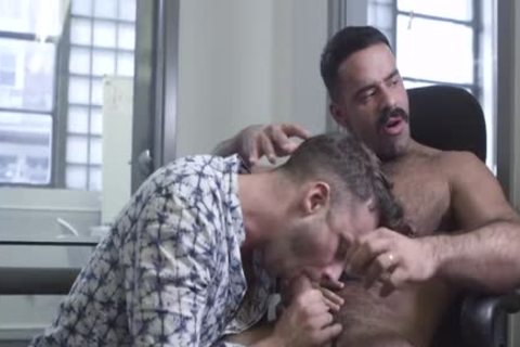 The Office, Part 1 – Teddy Torres bangs Damon Heart raw