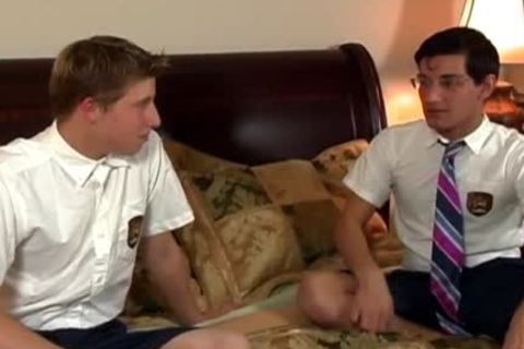 young Schoolboys suck And pound