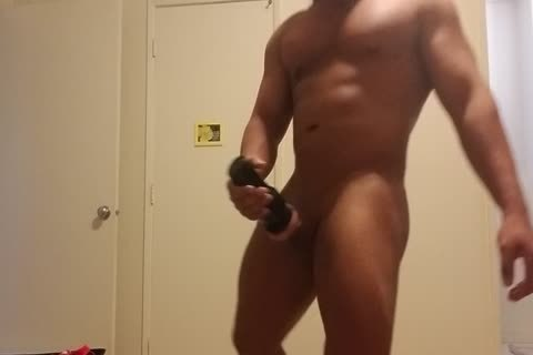 Flesh Light And cock Pumping Hard Post Waxing My butthole And Balls