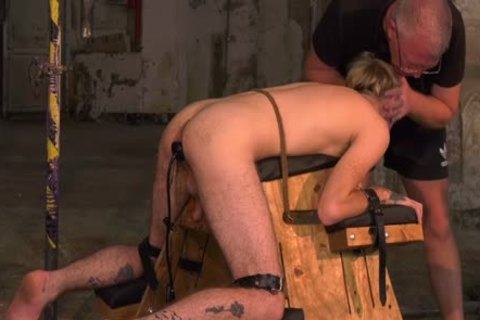 obedient young homosexual Submits To taskmaster For Clamp Torturing