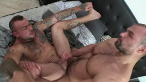 Sneaky Shower plow - Sean Duran and Jaxx Thanatos 69 Lovemaking