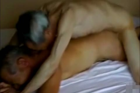 Two kinky And lewd Japanese older man's nail And suck!