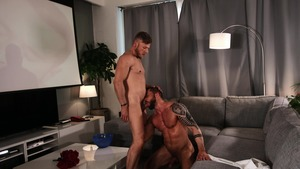 large Screen Narcissus: bareback - Matt Anders, Tyler Berg anal Licking bang