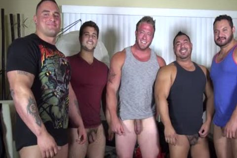 In Nature's Garb Party @ LATINO Muscle Bear house - non-professional enjoyment W/ Aaron Bruiser
