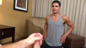 Str8 Chaser: Sex with Brandon Garza & big cock Paul Wagner