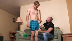 Family Dick - Virgin Bishop Angus raw gets plowed after school