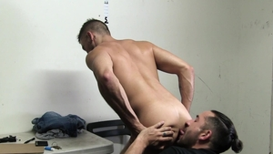 YoungPerps: Very sexy Shane Jackson 69 in the store