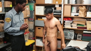 YoungPerps - Young John Rene sexy dancing in the store