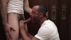 MissionaryBoys.com: Friend President Lewis kissing each other
