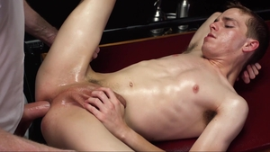 MissionaryBoys - Zach Brenton in mask giving head for penis